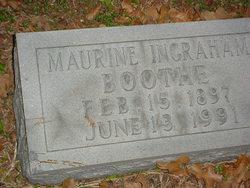 Maurine <i>Ingraham</i> Boothe