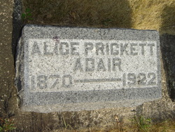 Alice <i>Prickett</i> Adair