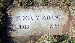 Edna Vera Adams