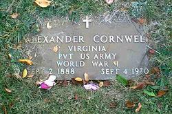Pvt Alexander Cornwell