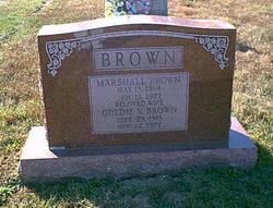Goldie V Brown