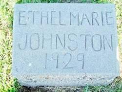 Ethel Marie Johnston