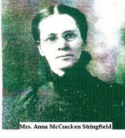 Anna May <i>McCracken</i> Stringfield