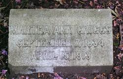 Martha Ann <i>Gallop</i> Griggs