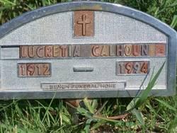 Lucretia Calhoun