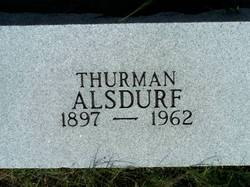 Thurman A. Alsdurf