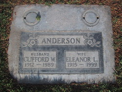 Clifford W Anderson