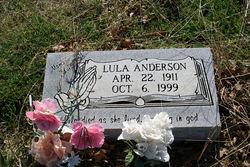 Lula Mae <i>Spencer</i> Anderson