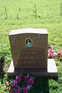 Zefferine <i>Franklin</i> Baxter