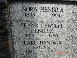 Frank Dewolfe Hendrix