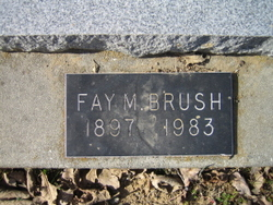 Fay M. <i>Erwin</i> Brush