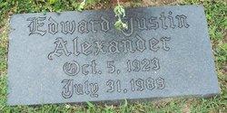 Edward Justin Alexander