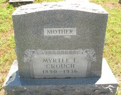 Myrtle Lillie <i>Snapp</i> Crouch