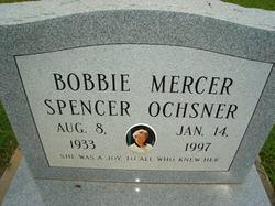 Bobbie Mercer <i>Spencer</i> Ochsner