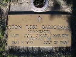 LCpl Leon Ross Barickman