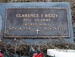 Clarence I Biddy