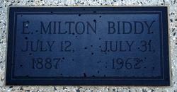 Eldridge Milton Biddy