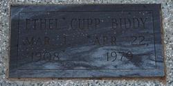 Ethel May <i>Cupp</i> Biddy
