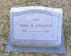Emma M <i>Henderson</i> Anderson