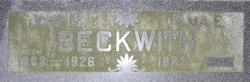 Alma E <i>Townley</i> Beckwith