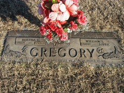 Bertha Eola <i>Taylor</i> Gregory