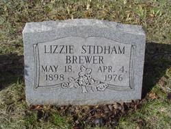 Lizzie <i>Stidham</i> Brewer