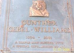Gunther Gebel-Williams