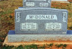 Frances Elaine <i>Shoup</i> McDonald