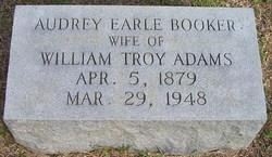 Audrey Earle <i>Booker</i> Adams