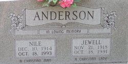 Jewell Ann <i>Thompson</i> Anderson