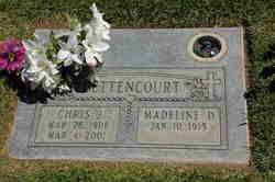 Madeline D. <i>Peters</i> Bettencourt