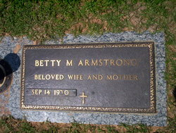 Betty <i>Miller</i> Armstrong