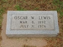 Oscar Wilbert O. W. Lewis