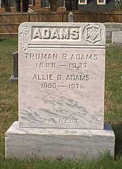 Alice M Allie <i>Burleigh</i> Adams