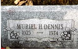 Muriel Phyllis <i>Hibbs</i> Dennis