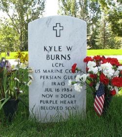 LCpl Kyle W. Burns