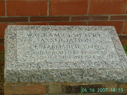 Wagram Cemetery