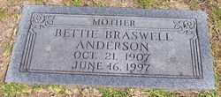 Bettie <i>Braswell</i> Anderson
