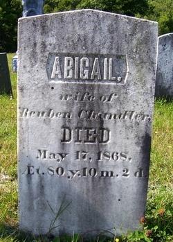 Abigail <i>Barrows</i> Chandler