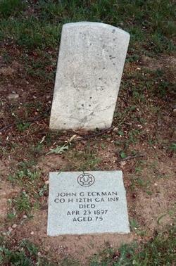 Pvt. John G. Eckman