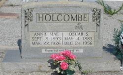 Annie Mae <i>Clack</i> Holcombe