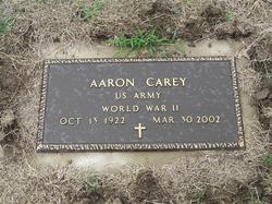 Aaron Carey