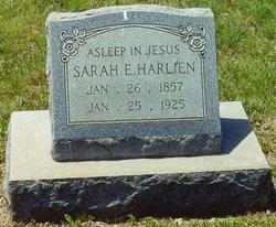 Sarah Evelyn <i>Bullard</i> Harlien