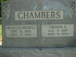 Frances <i>Nickell</i> Chambers