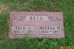 Frederick George Beck