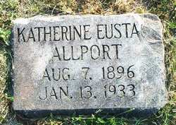 Katherine <i>Eustace</i> Allport
