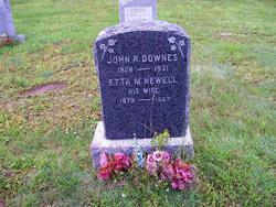 Etta Maria <i>Newell</i> Downes