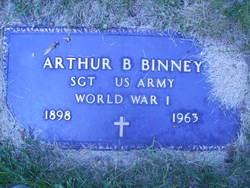 Sgt Arthur B. Binney