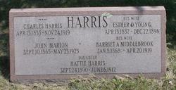 Harriet A. <i>Middlebrook</i> Harris
