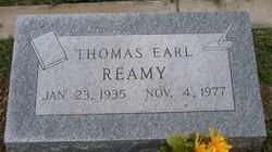 Thomas Earl Tom Reamy